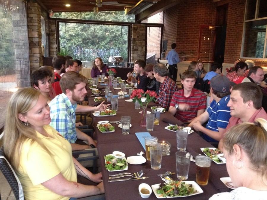 39th Student Career Days dinner
