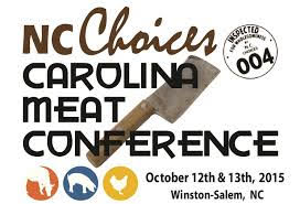 NC Choices - 2015 Carolina Meat Conference