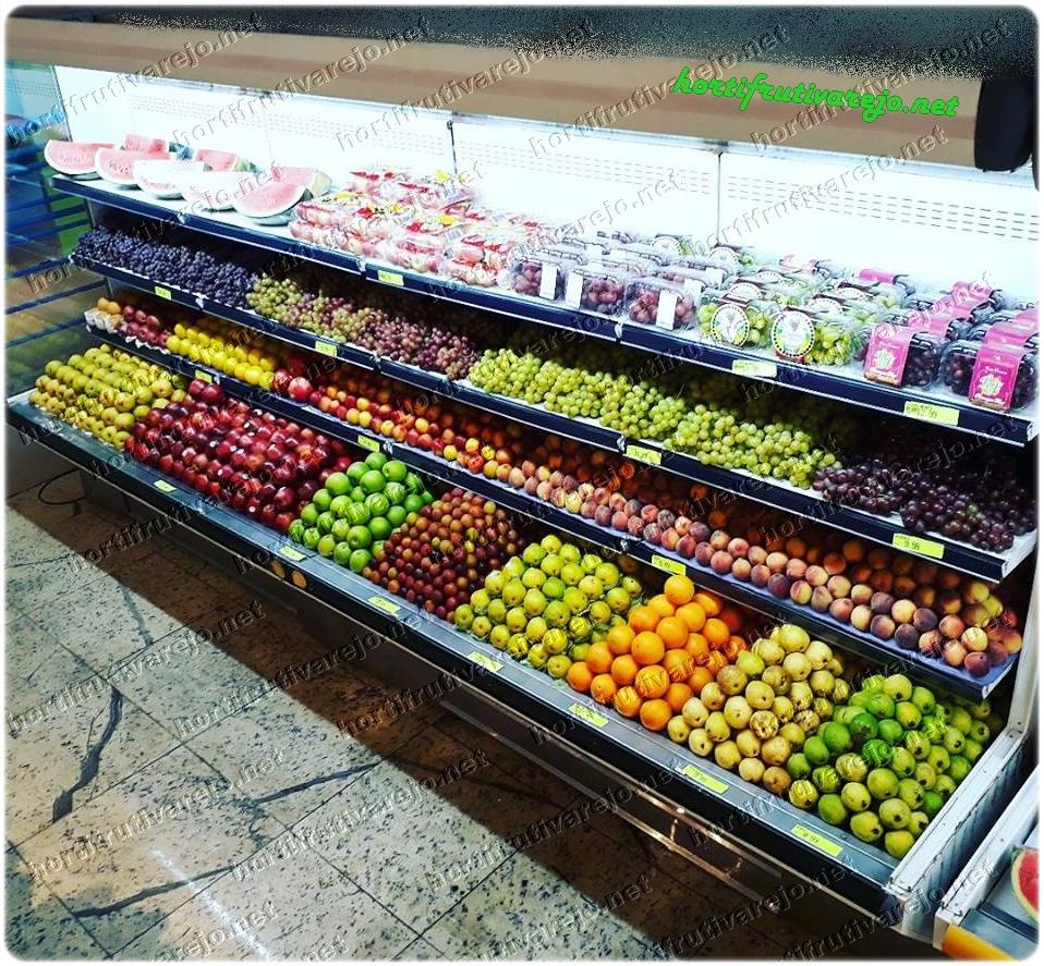 Balcão refrigerado de frutas nobres
