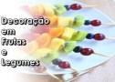Decorador De Frutas E Legumes. As Profissões Do Hortifruti