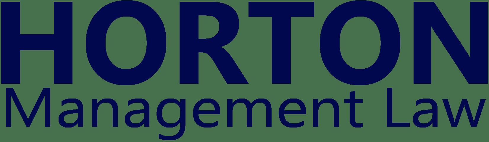 Horton Management Law