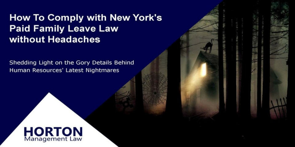 New York Paid Family Leave Webinar