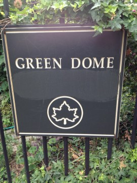 Green Dome Welcome