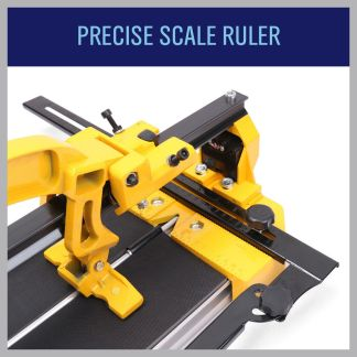 600mm Manual Tile Cutter Laser Guide Home Pro Tile Cutting Machine Heavy Duty
