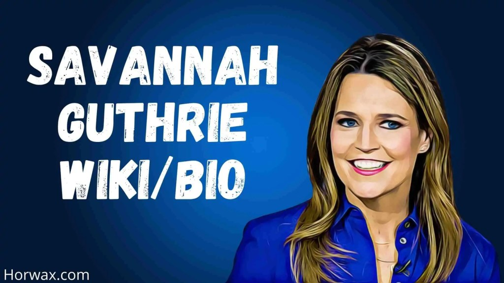Savannah Guthrie Wiki & Bio