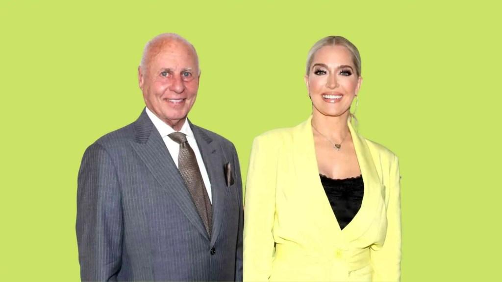 Tom Girardi with his wife Erika Jayne