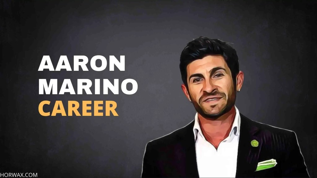 Aaron Marino Net Worth & Professional Career