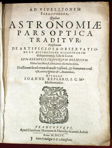 Johann Kepler, Ad Vitellionem paralipomena (1604)