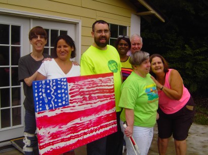 Flag Project with Hart Gallery