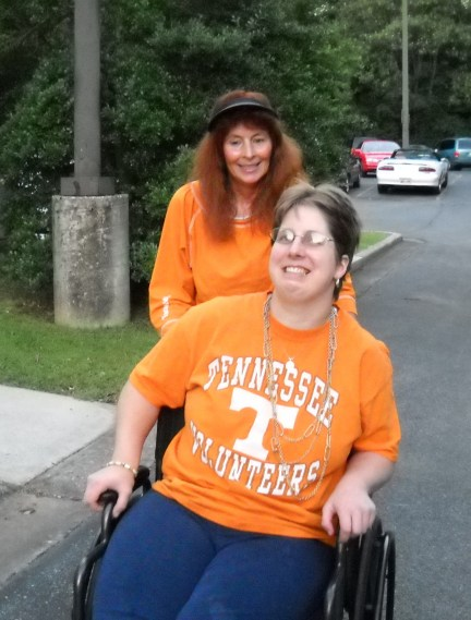 Vols fans support one another