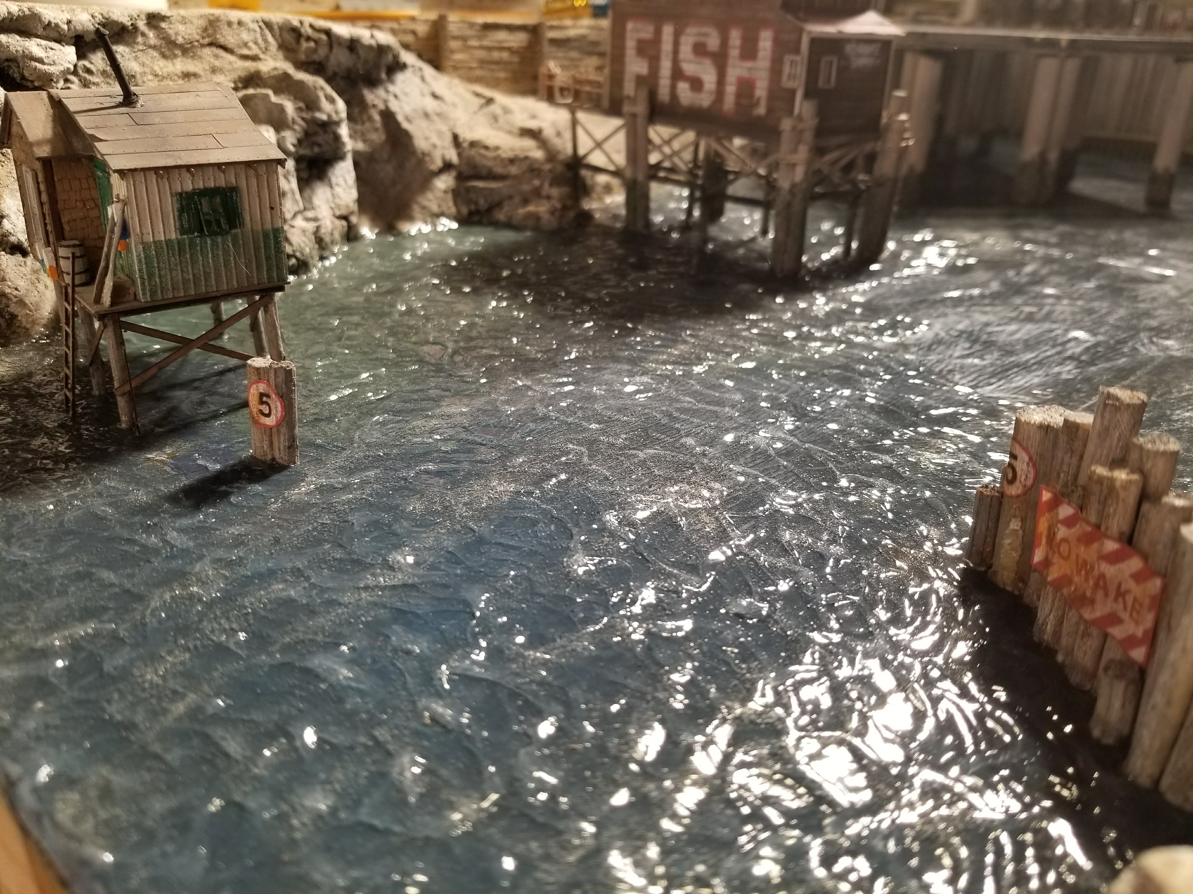 How to Make Water with Waves for Your Train Layout - Scenery
