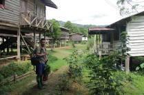 HOSCAP Borneo main guide Robert Lajo at the Penan village of Long Main