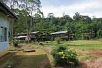 At the Penan village of Long Main