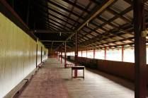 The 'ruai' of the longhouse to be used as a classroom for the Nature School at Long Lellang.