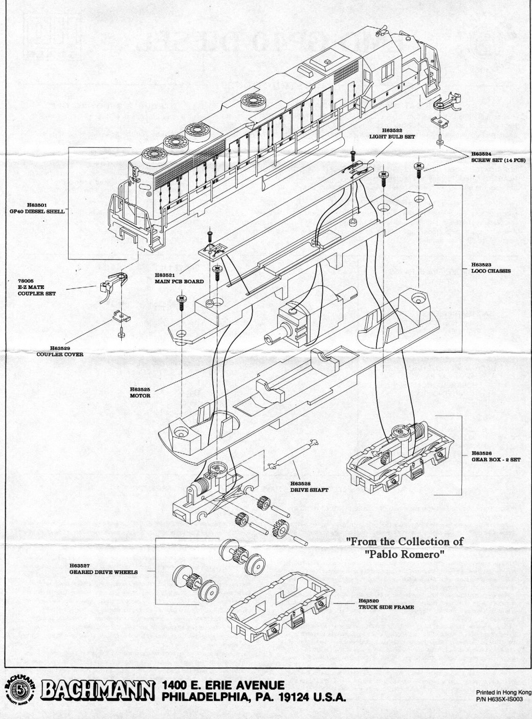 New York Central Train Layout Shop Bulletin