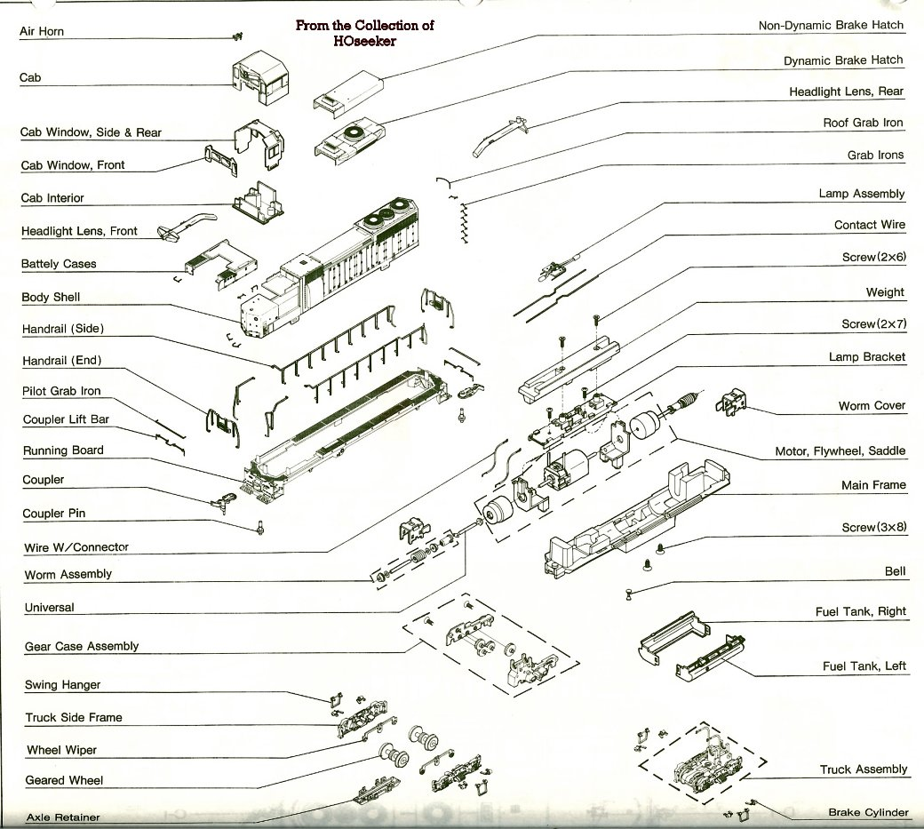 Parts For Old Kato Ho Engines