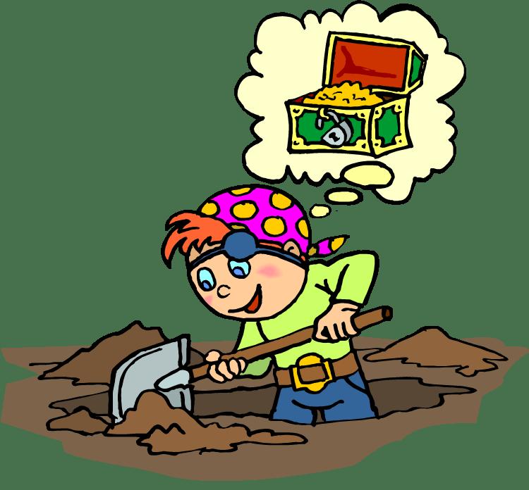 Treasure, digging-b 19866350