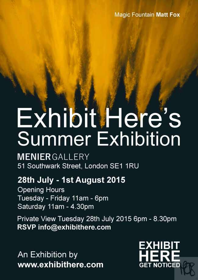Exhibit Here's Summer Exhibition