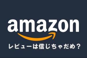 Amazonレビュー信用できない