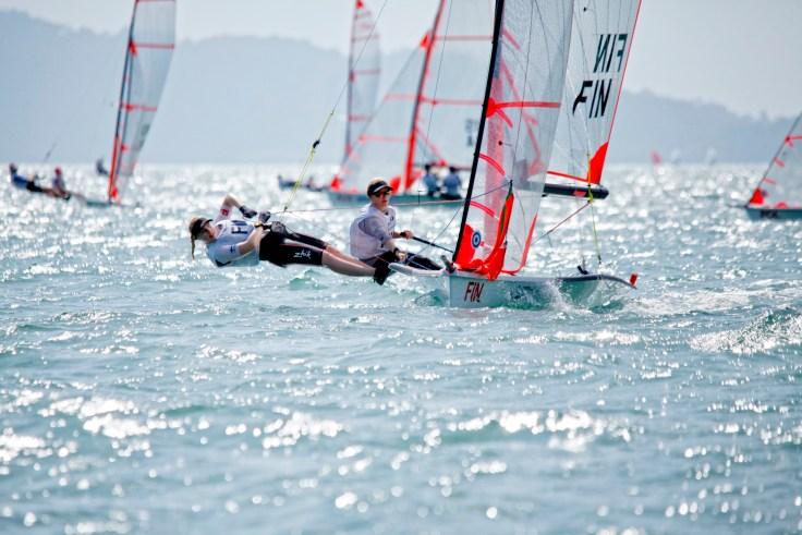 Day1, 2015 Youth Sailing World Championships, Langkawi, Malaysia