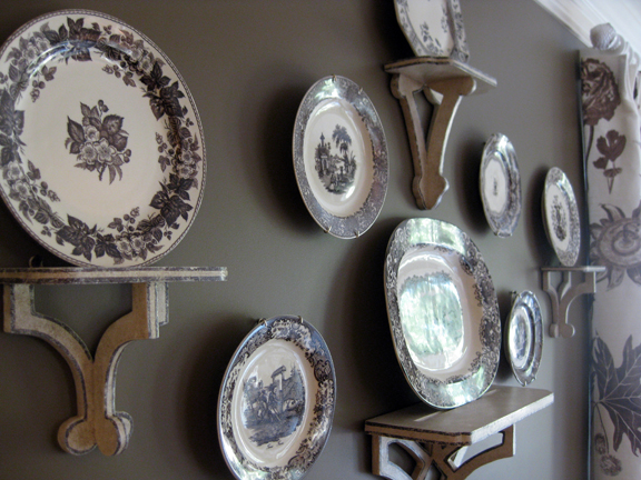 Decorating with plates  Hoskins Interior Design Decorating with plates