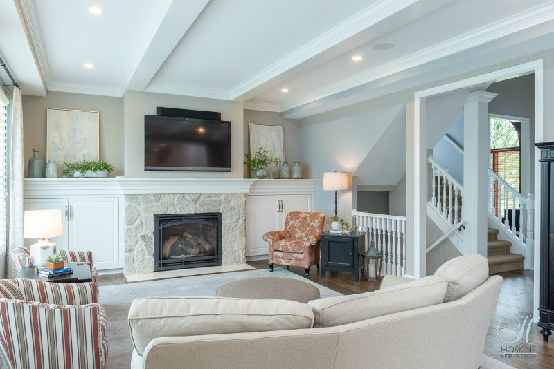 family room remodeling
