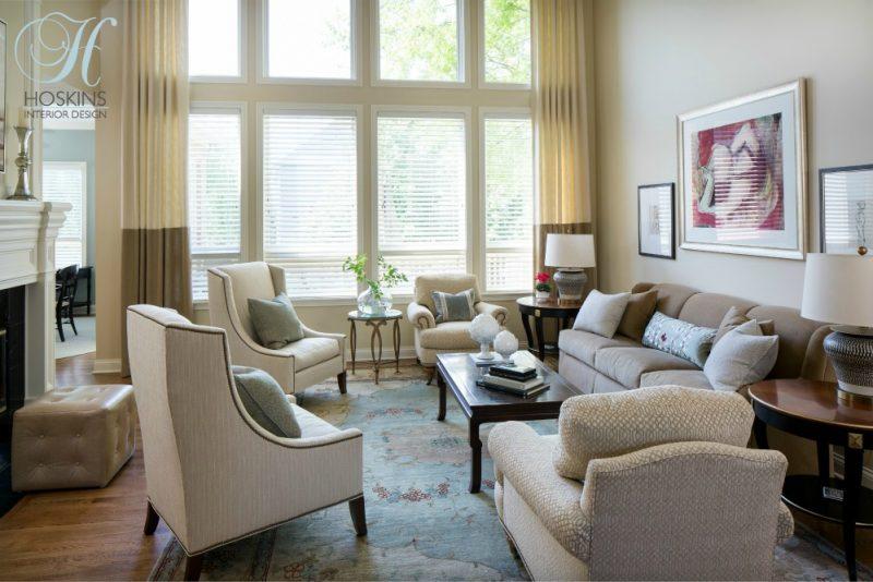 transitional living room dining room hoskins interior design. Black Bedroom Furniture Sets. Home Design Ideas