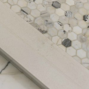 marble tile shower floor