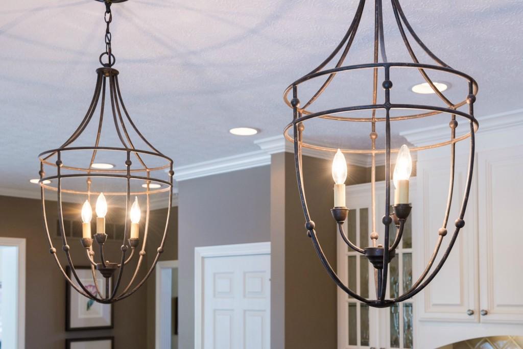 iron kitchen lighting