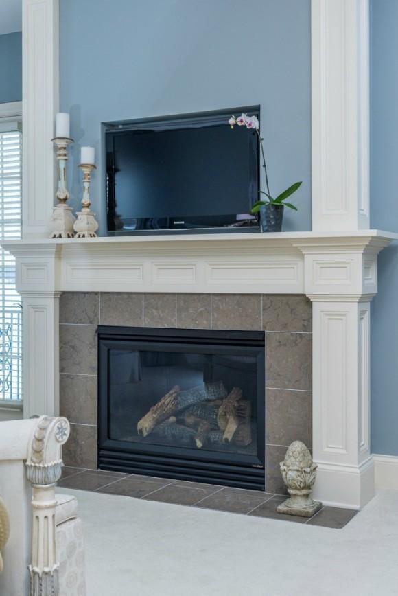 master bedroom fireplace design. Serene Master Bedroom Design Project  Hoskins Interior Design