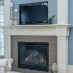 master bedroom fireplace design