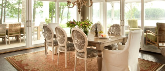 Lakehouse Dining Table detail