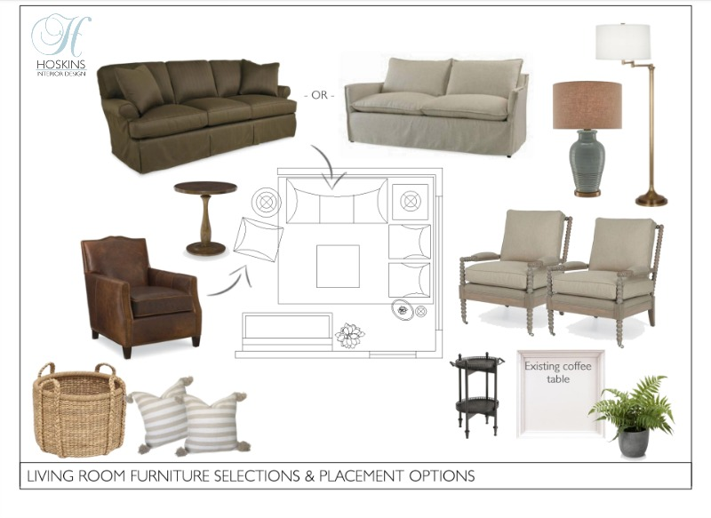 interior design selections