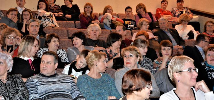 В Железногорске состоялся первый  благотворительный концерт Железногорского хосписа. Спасибо Рома!