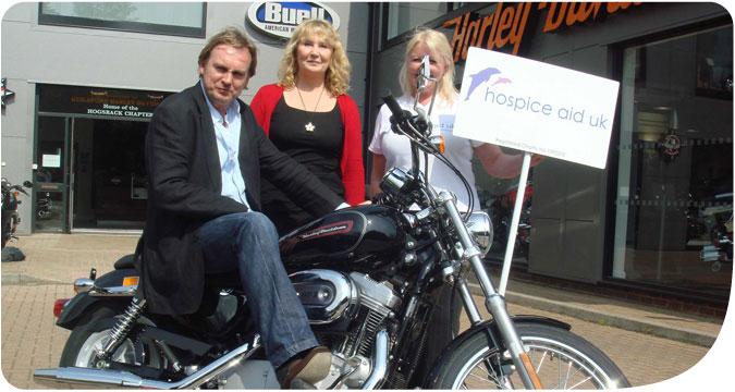 Phillip Glennister Harley Davidson Campaign