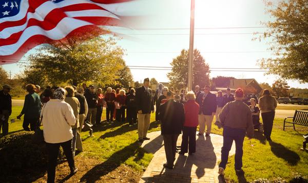 Veteran's Day Flag Dedication - 2011