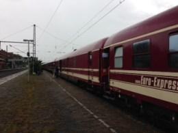 The long train to Lourdes