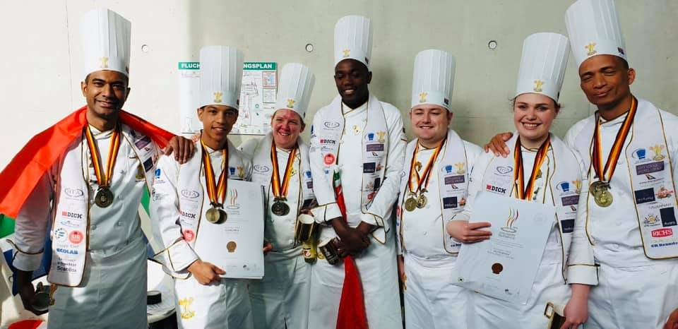 Culinary Team SA win 3 bronze medals