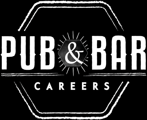 Pub and Bar Career Logo_p&bblackbg