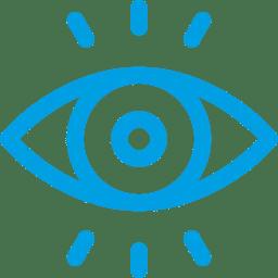 icone de olho humano