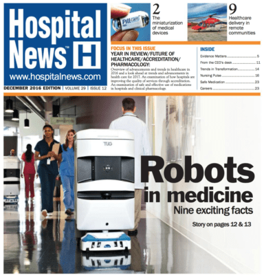 health care, hospital news december edition