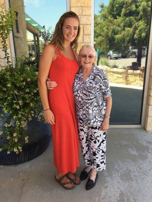 Martha with grand-daughter Adrianna