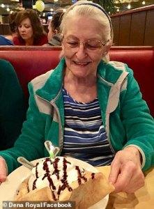 Martha Wright Celebrating Birthday