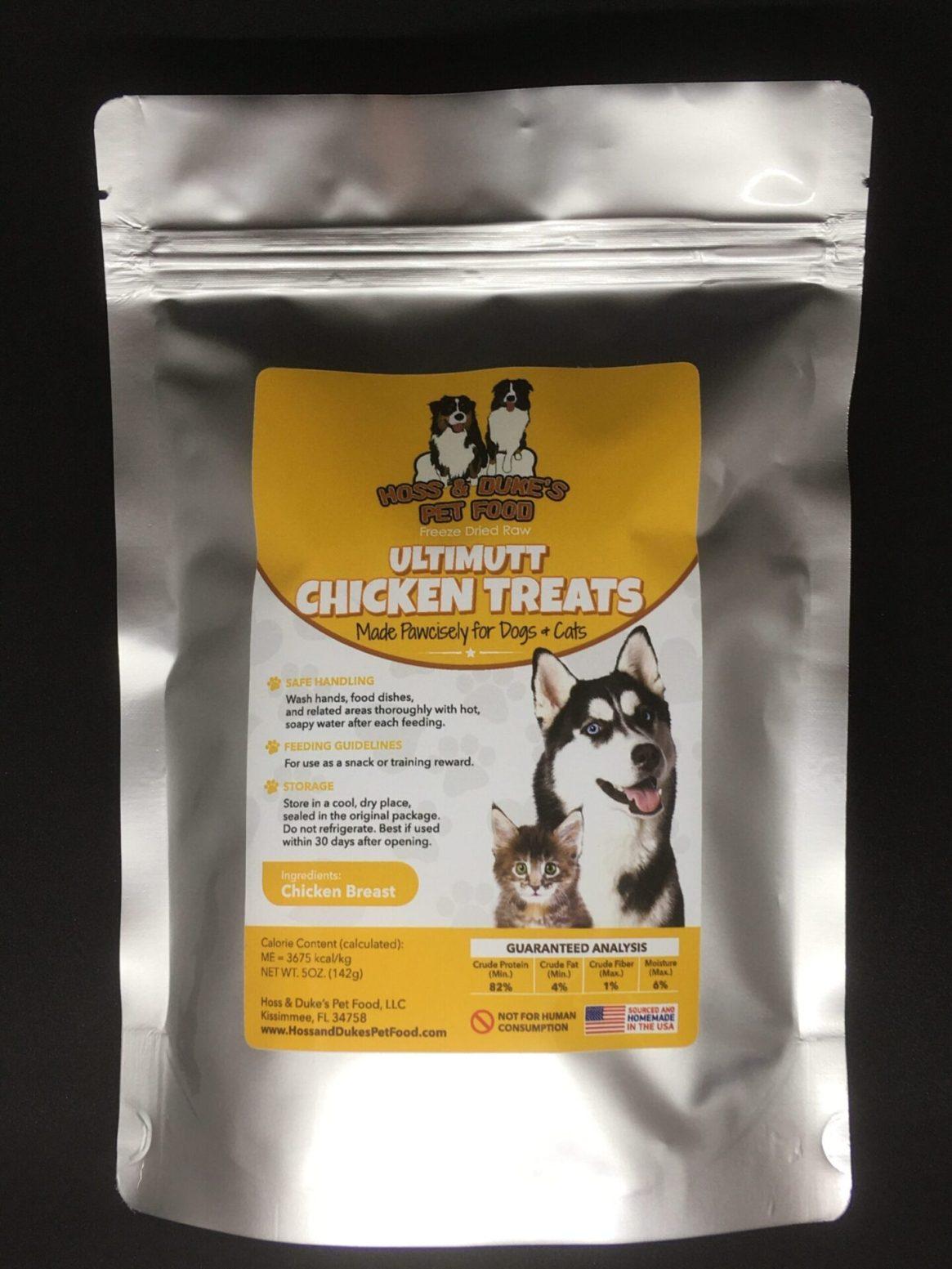 Hoss & Duke's Ultimutt Chicken Treats