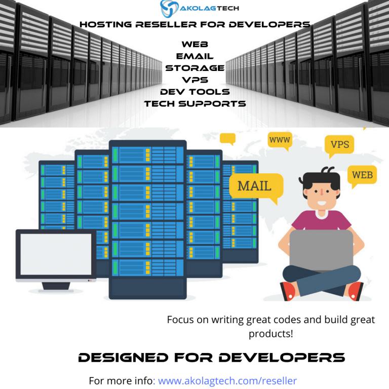 Web Hosting Reseller for Developers