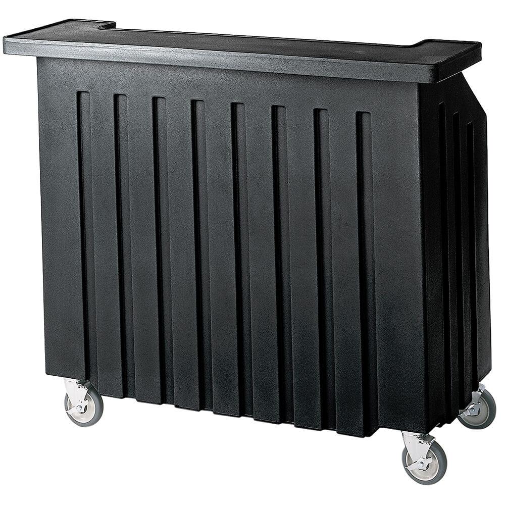 Cambro Black, Small Portable Bar, Indoor / Outdoor Bar ... on Portable Backyard Bar id=35037