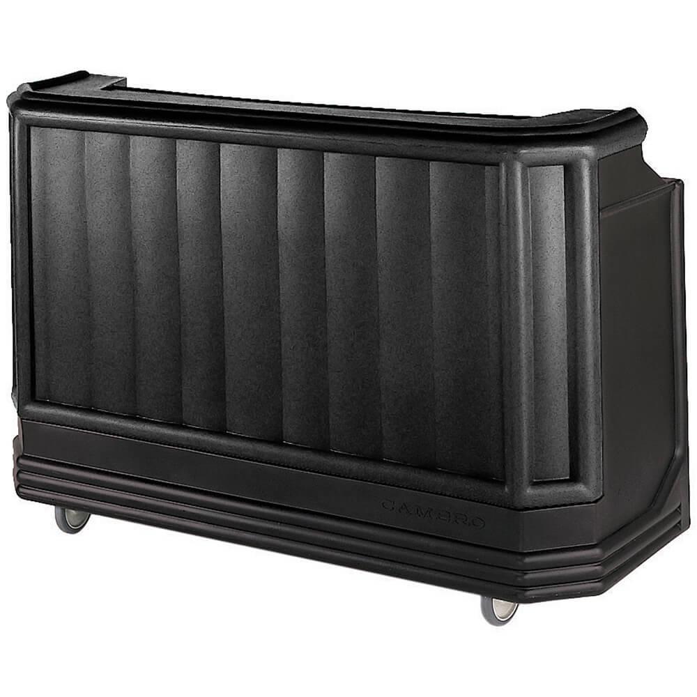 Cambro Black, Mid-size Portable Bar, Indoor / Outdoor Bar ... on Portable Backyard Bar id=99973