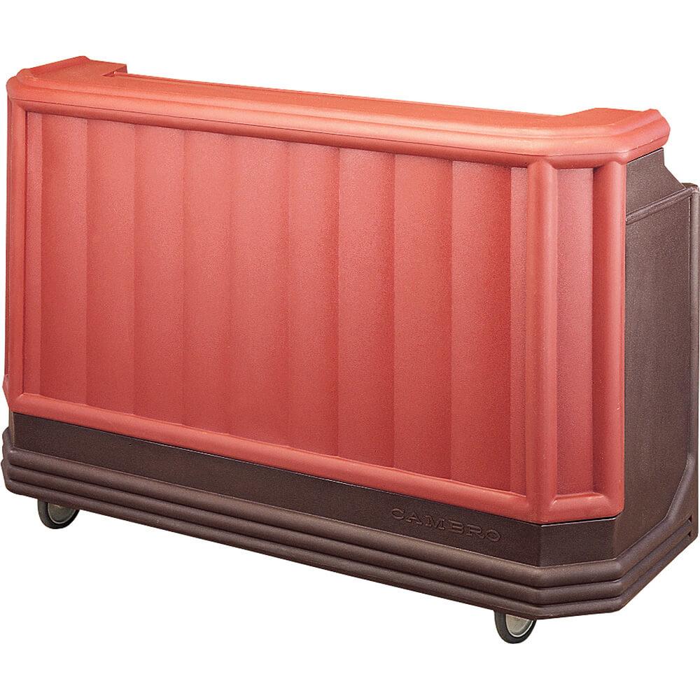 Cambro Brown Mahogany, Large Portable Bar, Indoor ... on Portable Backyard Bar id=71741