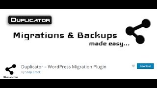 How To Migrate/Transfer WordPress Website To New Host  | Duplicator  Plugin