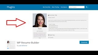 How to create Resume on wordpress page or post | upload resume on wordpress